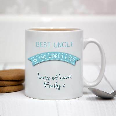 Personalised White Ceramic Mug - Best Uncle In The World