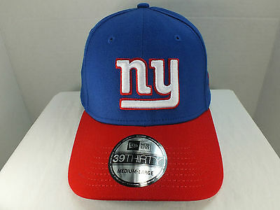 New York Giants NFL FLEXFIT PRE-SHAPED HAT CAP NEW BY NEW ERA 39 THIRTY