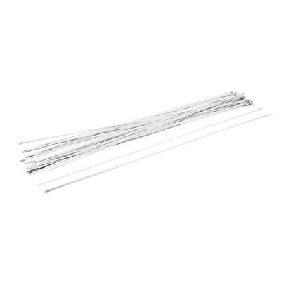 4.6mm Wide Stainless Steel Sprayed Cable Tie 800mm 50 PCS
