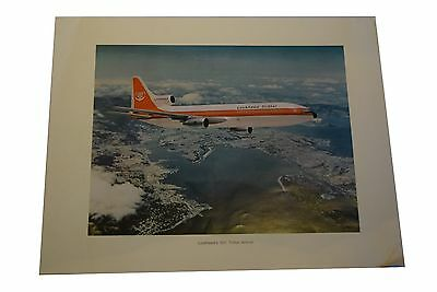 Lockheed's 1011 TriStar Airliner Advertising Poster  14 x 11