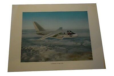 Lockheed US Navy S-3A Advertising Poster  14 x 11