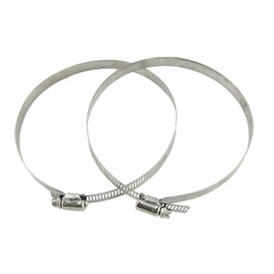 Adjustable Band Worm Drive Type 130-152mm Hose Clamp