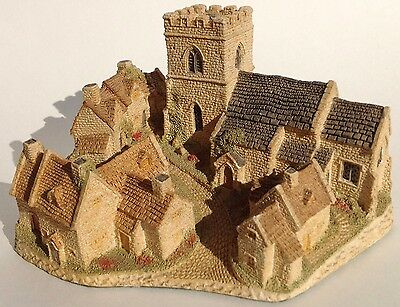 Vintage 1982  David Winter Hand Made And Hand Painted Cotswold Village