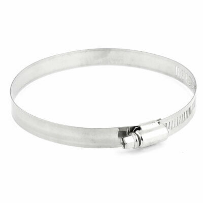 91mm-114mm Adjustable Stainless Steel Worm Drive Hose Clamp