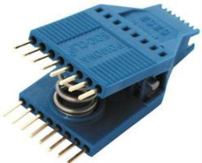 Pomona 5252 -  IC Test Clip, SOJ, SOIC, 16 Contacts, Gold Plated Contacts