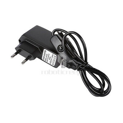 New 5V 2.5A  Power Adapter with Micro USB Cable Switch On/Off for Raspberry Pi 3