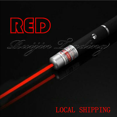 NEW | Red Laser Pointer Pen Beam Light 1mw Professional Lazer High Power UK