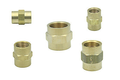 Brass Female BSPP Coupling BSP Pipe Fittings Connector Reducing Adapter