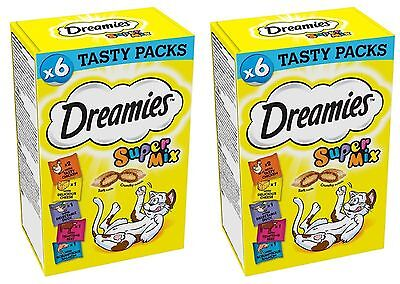 Dreamies Super Mix Christmas Gift 2 Pack