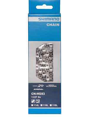 Shimano Cn-Hg93 - 9 Speed Chain - 114 Links -  Xt - Ultegra - Saint