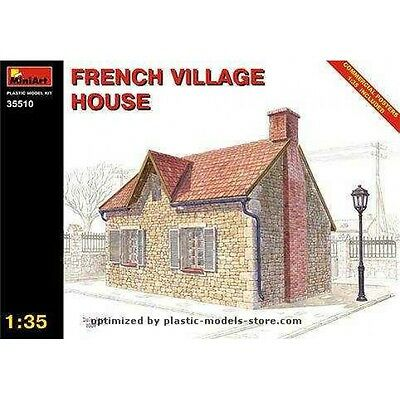 Plastic Model Building 1/35 French Village House Wwii Diorama Miniart 35510