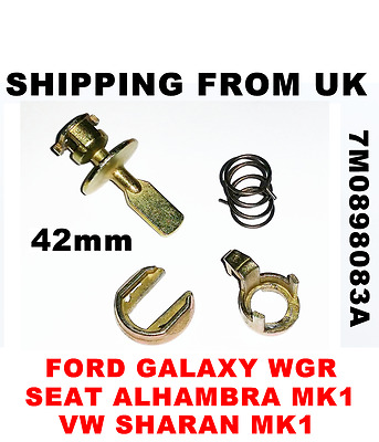 DOOR LOCK REPAIR SET KIT FRONT for FORD GALAXY SEAT ALHAMBRA VW SHARAN 33mm PIN