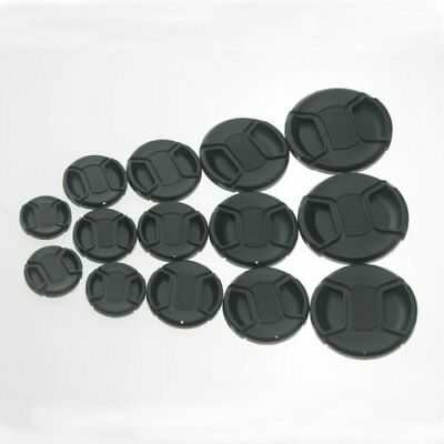 5 pcs 49mm Plastic Snap-on Front Lens Cap for Canon Pentax Nikon Sony Samsung le