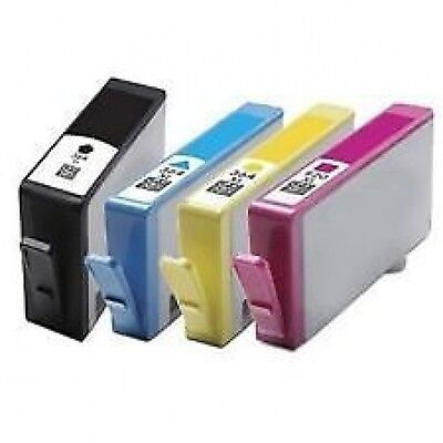 4 NON OEM 364 XL Ink Cartridge for HP Photosmart 5510 5515 5520 5524 6510 C6380