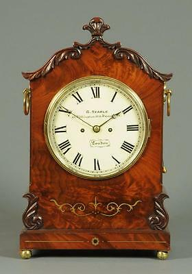 Fine Mahogany Double Fusee Repeater Bracket Clock, G. Searle London • £2,250.00