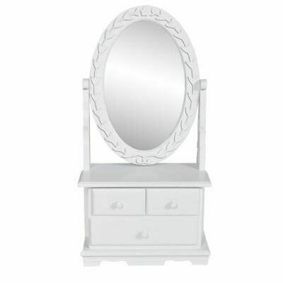 New Cosmetics Table With Mirror White Mdf Vanity Table Make Up Dressing Table