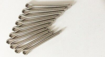 38mm. SPLIT PINS / COTTER PINS 4mm X 38mm STAINLESS STEEL
