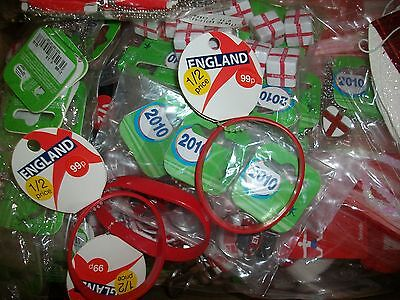 50 x Items England St George Stock Football Wholesale Joblot Clearance RRP £85+
