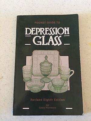 Pocket Guide To Depression Glass Revised 8th Edition (Softback Book;1993)