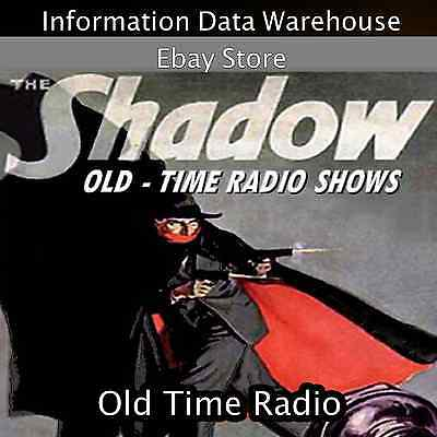 The Shadow Original Radio Show all Episodes on DVD