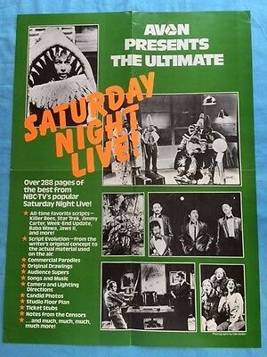 Avon Presents The Ultimate Saturday Night Live: Promotional Poster.
