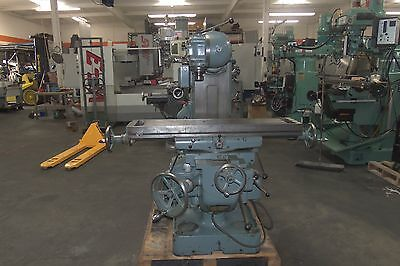 """G Dufour Universal Milling Machine, 43"""" x 10"""" Table."""