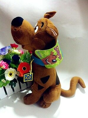 "Cartoon New 14"" 35CM Scooby-Doo Plush Stuffed Toys New with Tag Free Shipping"