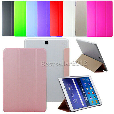 """Slim PU Leather Cover Case For Samsung Galaxy Tab A / E /S3 /S2 7"""" 8"""" 9.7"""" 10.1"""""""