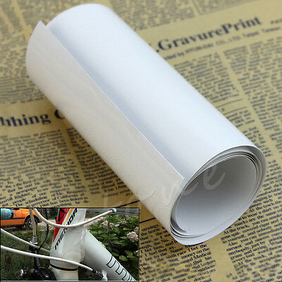 Practical Bike Bicycle Frame Protector Clear Wear Surface Tape Film -60 To +120°