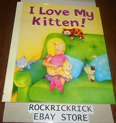 My Story Time Library Book - I Love My Kitten! -Brand New-