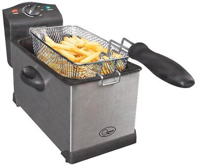Professional 3L Litre Stainless Steel Deep Fat Chip machine Fryer - Brand NEW