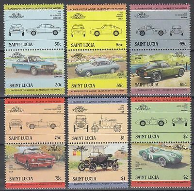 St. Lucia 1984 ** ex Mi.696/11 Automobile Autos Cars Chrysler Imperial [sq6261]