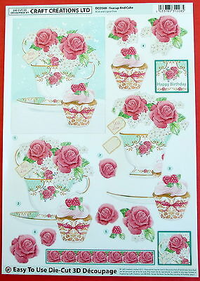 "A4 DIE CUT 3D DECOUPAGE PAPER TOLE  /""MENS BOWLS/"" SHEET NO CUTTING  DCD509"