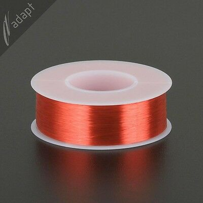 41 AWG Gauge Magnet Wire Red 9800' 155C Solderable Enameled Copper Coil Winding
