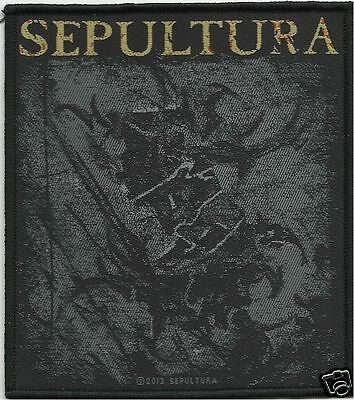 SEPULTURA the mediator  - WOVEN  PATCH - free shipping