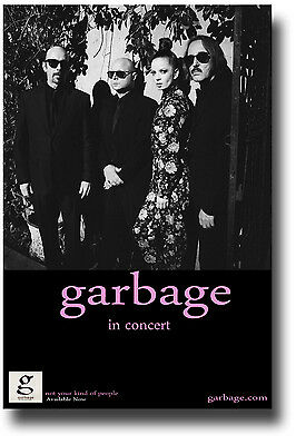 Garbage Poster - Concert Flyer 11x17 - 2013 Tour Not Your Kind of People