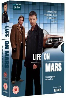 LIFE ON MARS COMPLETE SERIES 2 DVD BOX SET Brand New and Sealed UK Release