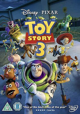 TOY STORY PART 3 DVD Walt Disney Original Brand New and Sealed UK Release