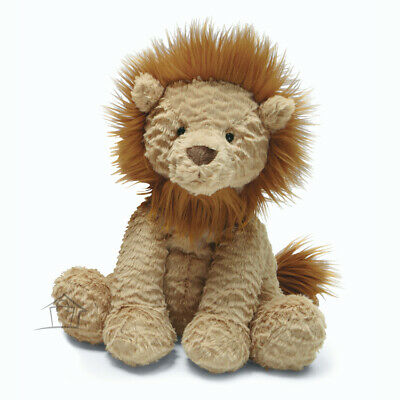 NEW Jellycat Fuddlewuddle Lion Medium 23cm Toffee Brown Plush Toy King Jungle