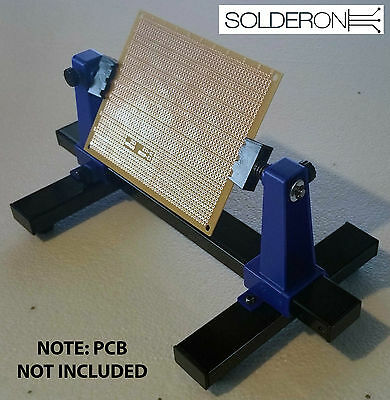 PCB Circuit Board Clamping / Holder Kit - Holds up to 200mm Wide Board