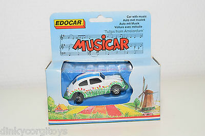 Edocar Musicar Vw Volkswagen Beetle Kafer Tulips From Amsterdam Mint Boxed Rare