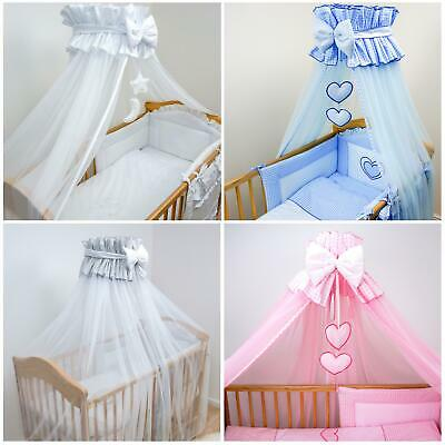 Round Crown Nursery Canopy / No Or With Holder, Rod Type To Choose