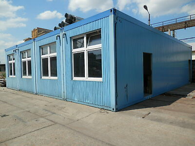 Bürocontainer Wohncontainer Containeranlage ca. 300 m² Raumcontainer