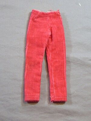 Vintage Original Barbie Francie #1270 Groovy Get-Up Pink Corduroy Pants
