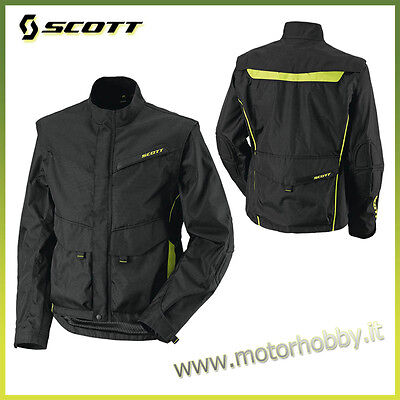 Giacca Enduro Scott Adventure Jacket Nero Verde Taglia Xl