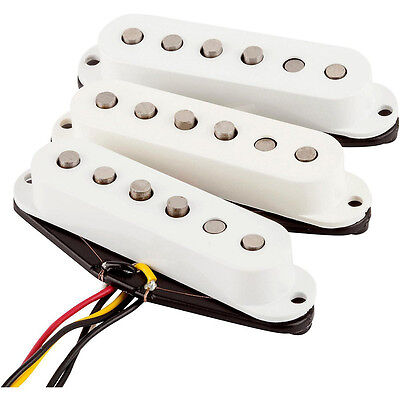Fender Tex-Mex Stratocaster Strat Single Coil Alnico V Guitar Pickup Set of 3