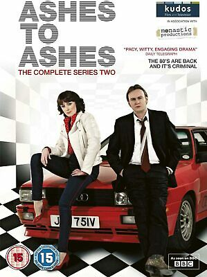 ASHES TO ASHES COMPLETE SERIES 2 DVD SET Brand New Sealed UK Box TV Season