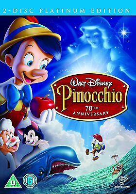PINOCCHIO DVD Walt Disney 2 DISC PLATINUM EDITION PINNOCHIO New Sealed UK