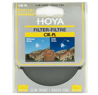 Hoya 72mm 72 mm Slim Circular Polarising Polarizing Polariser C-PL CPL Filter