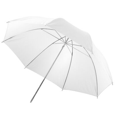 "PIXAPRO® 40"" Studio Flash Strobe Translucent Brolly White Soft Umbrella 101cm"